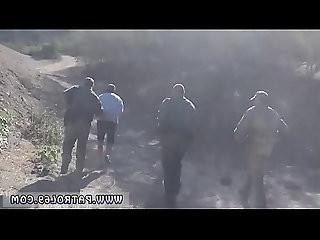 Nerd blowjob Border Patrol agents caught Sophia attempting to hop the