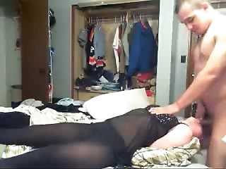 Bound gaged BJ with Crazy Jane Jonny Dark