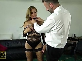 PASCALSSUBSLUTS French MILF Joanna Bujoli ass destroyed
