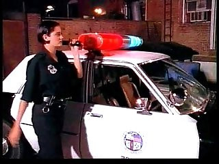 Sexy cop slut with dirty feet moans groans while being cocked by a hard fucker