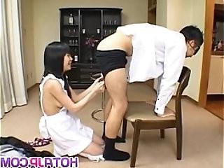 Konomi Sakura licks fellow asshole and is fucked from behind