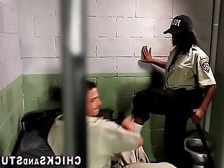 Gorgeous cop domina fucks