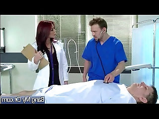 Hard Sex Therapy Between Patient And Doctor clip