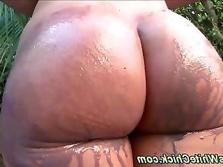 Sucking ho booty licked