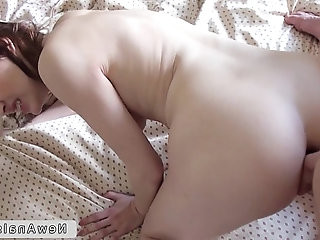 Russian amateur gorgeous girl anal fucking