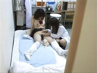 Schoolgirl seduced by female Doctor