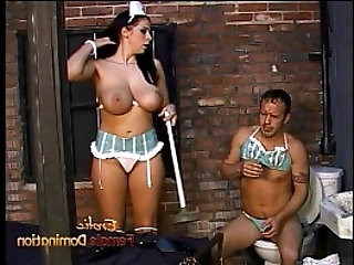 Ravishing Gianna makes a horny stallion eat her orgasmic pussy