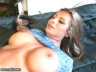 Busty Lindsay Fucked On The Trucks Bed