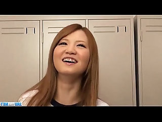 Asian schoolgirl,Hikari, amazing solo cam show
