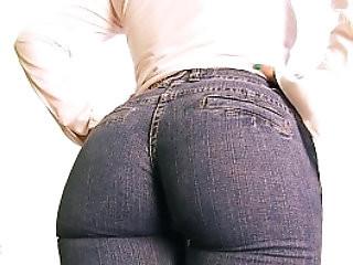 Deep Cameltoe Milf Wearing Tight Jeans! Milk In Tits! Nasty