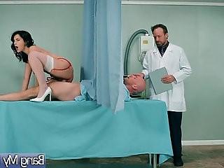 Sex Scene Between Doctor And Slut Patient Valentina Nappi video