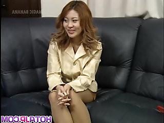 Busty Yuuko enjoys cock on cam