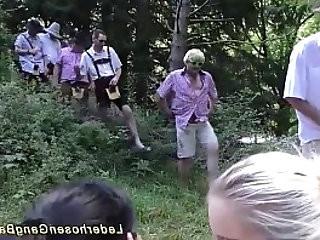 german deepthroat fuck orgy