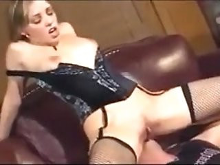 Cunnilingus in stockings